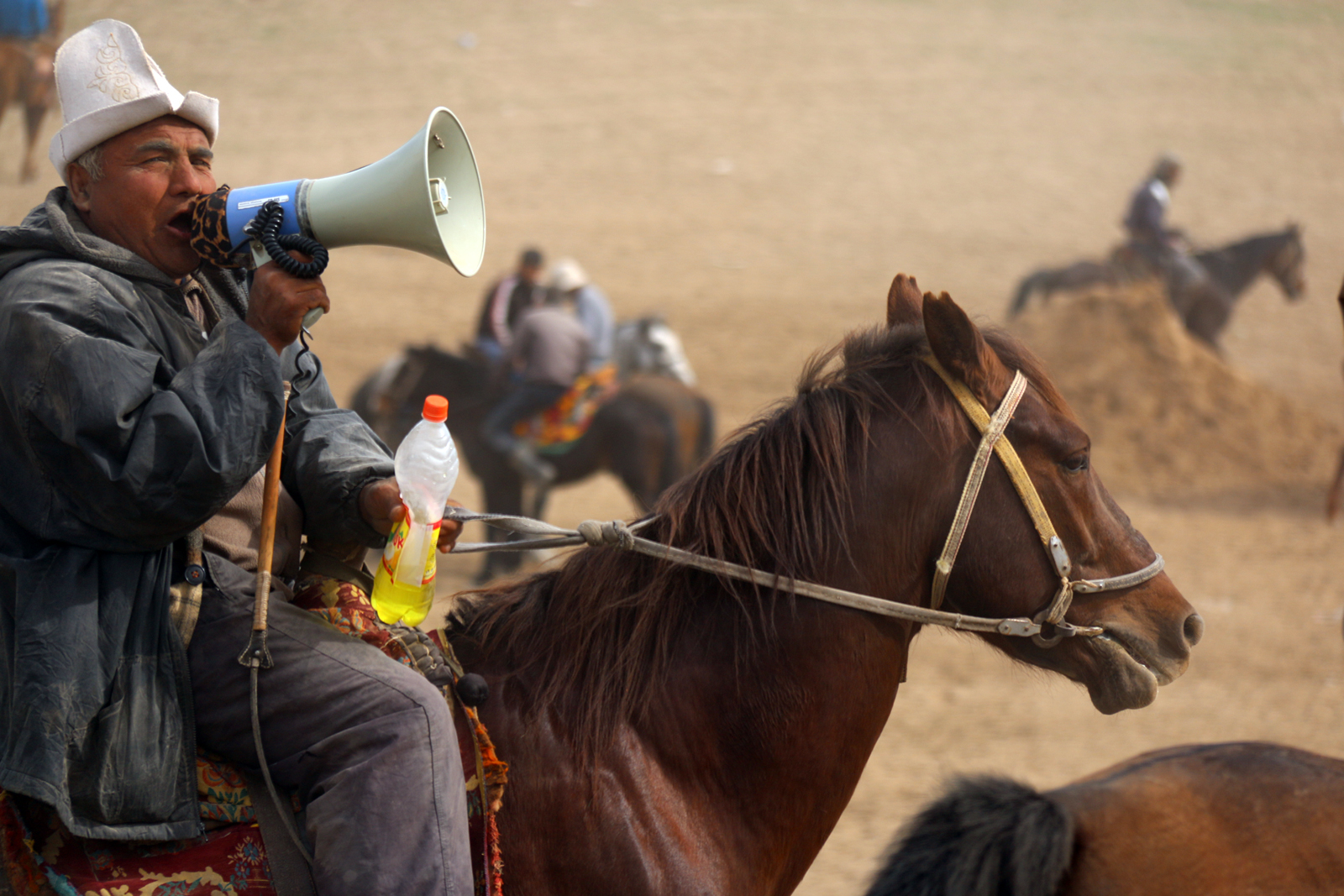 Buzkashi teller of stories