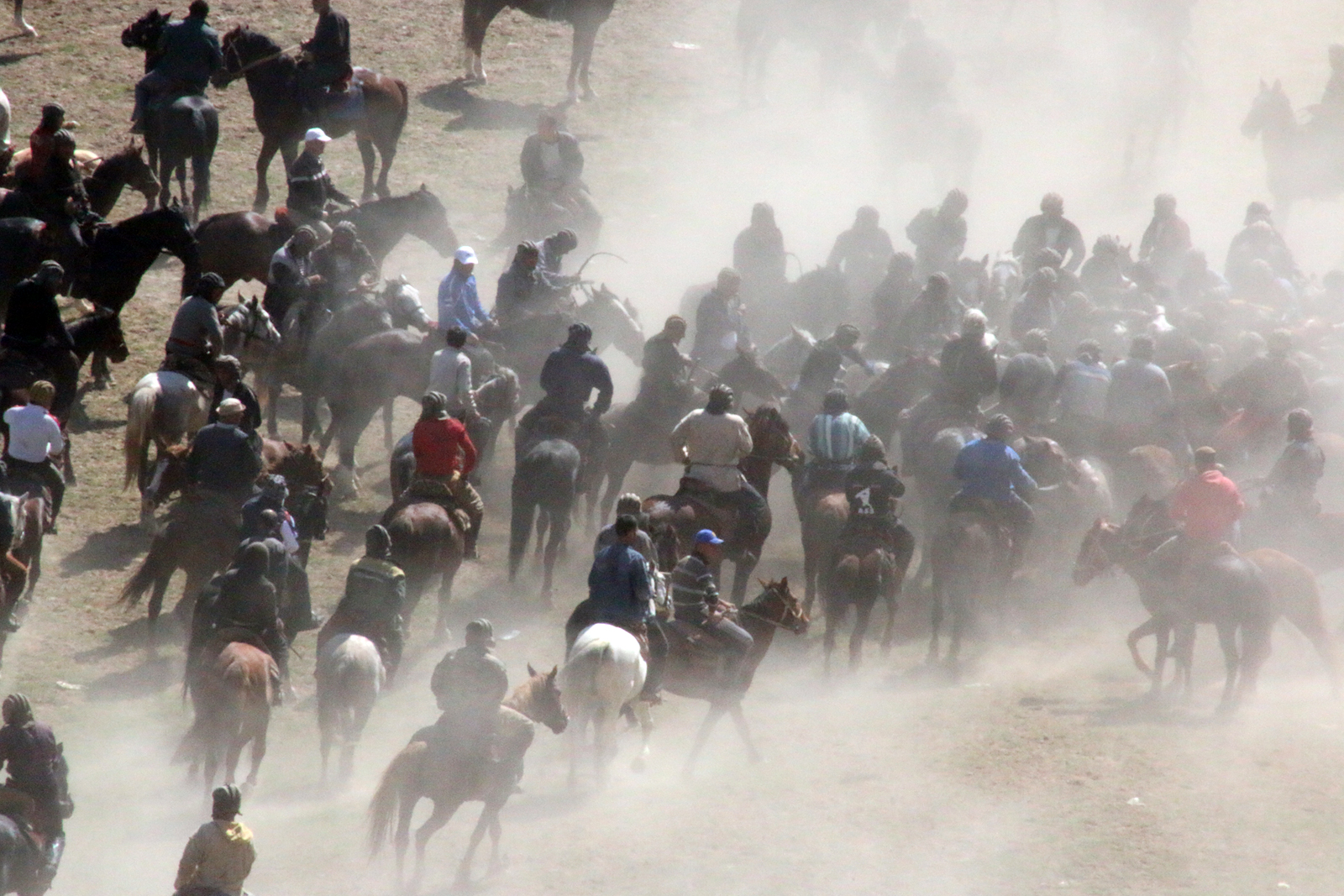 Buzkashi on the move