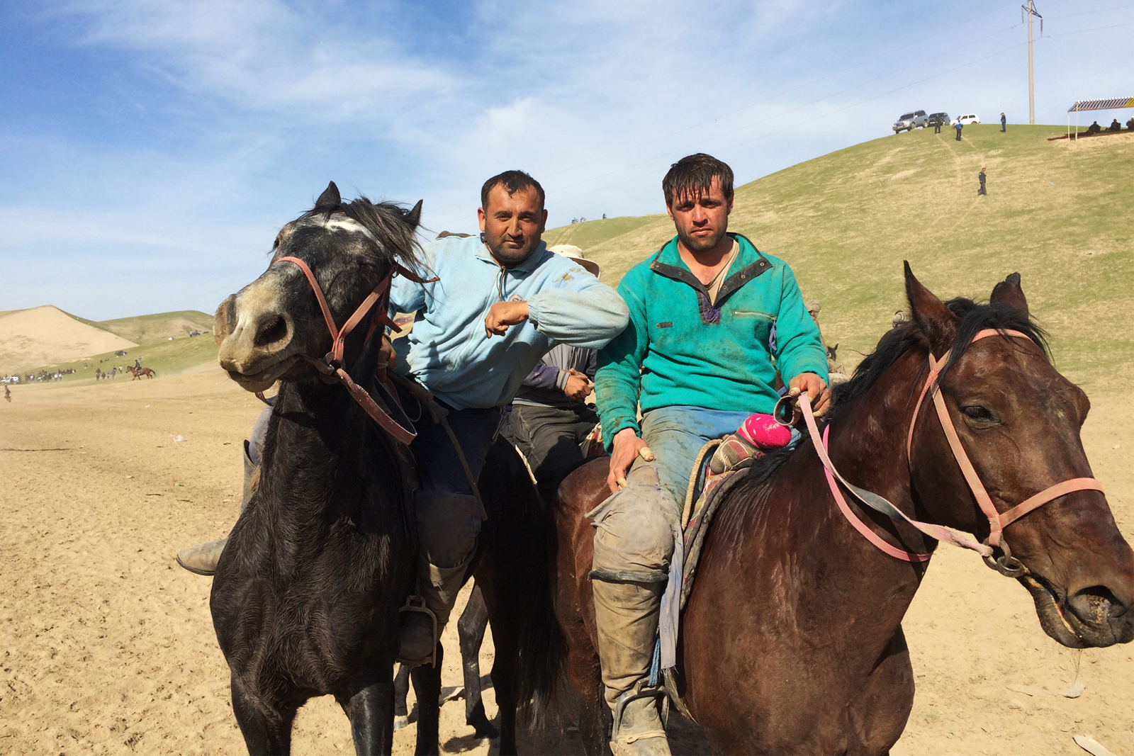 Buzkashi Winners in Tajikistan