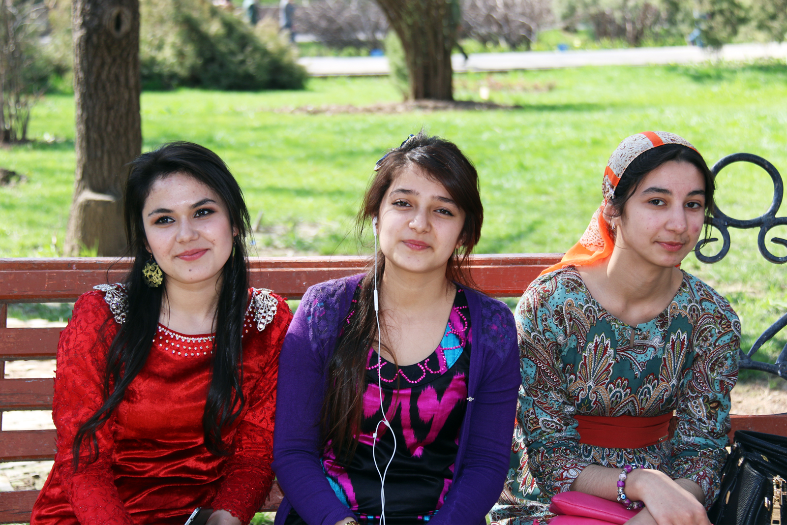 Local Tajikistan people